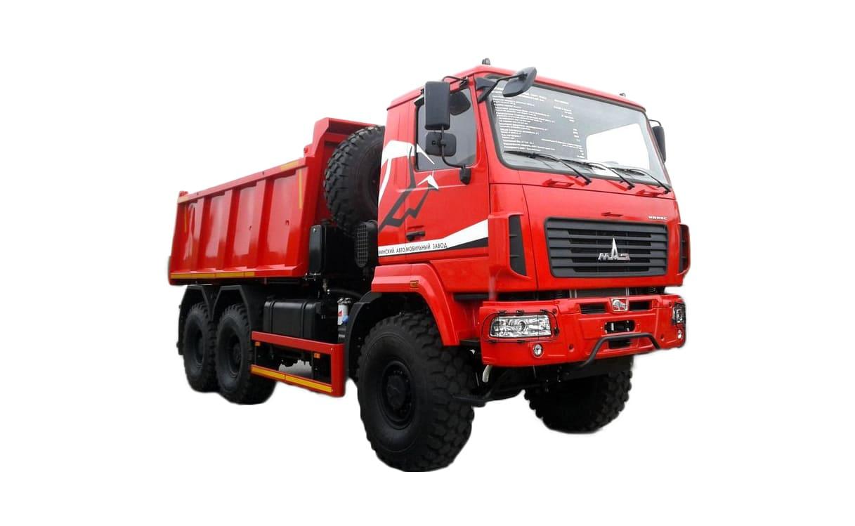 МАЗ-6502С9-523-052 полный привод