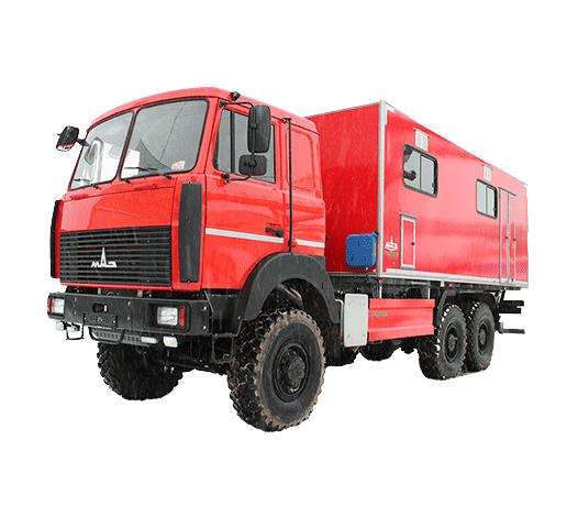 Автомобиль КУПАВА 673150 на шасси МАЗ-631724-565-001