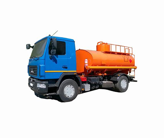 Автотопливозаправщик АТЗ-10 на базе шасси МАЗ 5340С2 фото